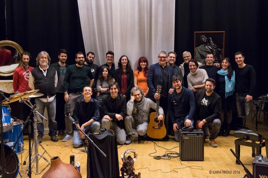 Marco MassaRegistrazione videoclip 19/01/2016 Teatro Belloni, Barlassina (MB)